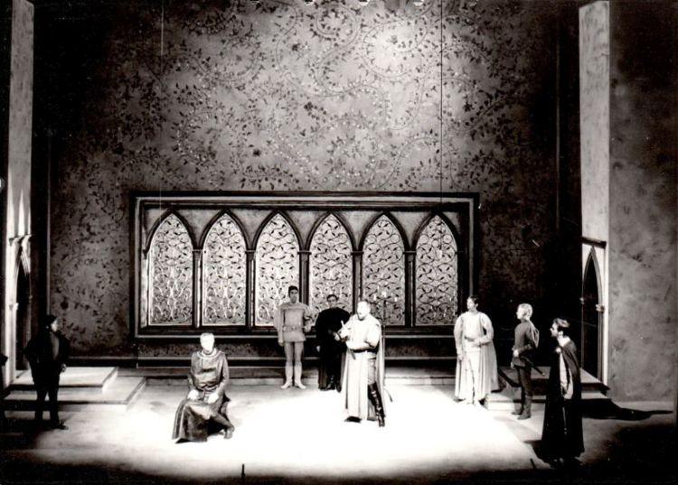 Ariodante, 1971<br>Szene, Landestheater Halle