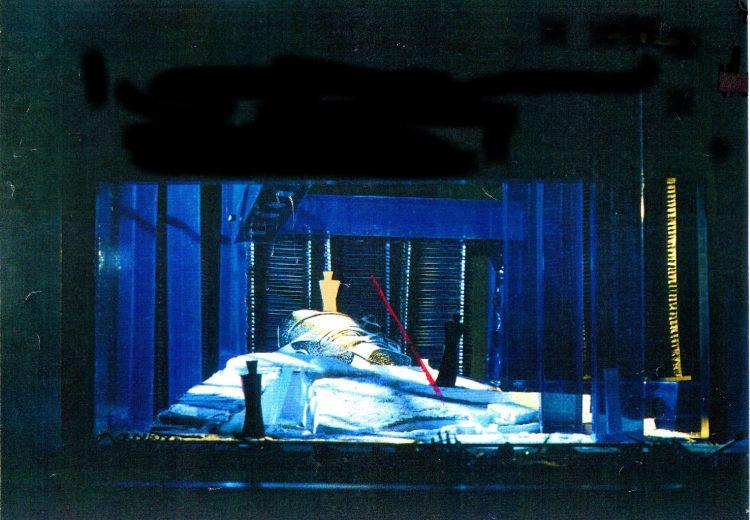 GIULIO CESARE, 1992<br> Entwurf, Oper Halle