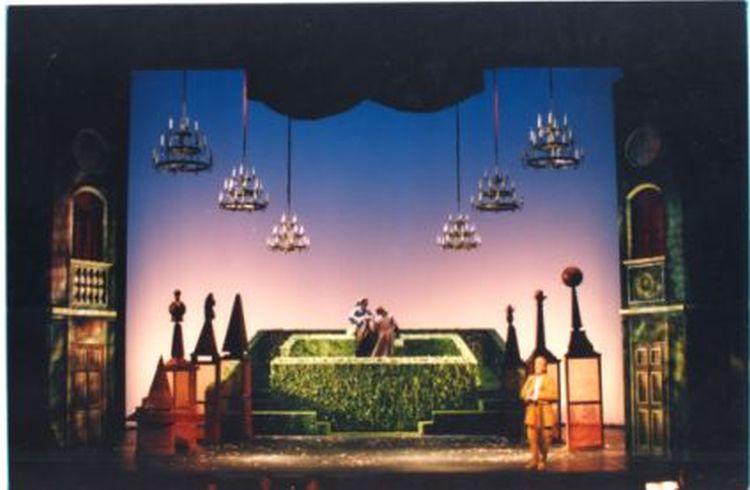 FLAVIO, 1994<br> Szene, Oper Halle (Saale)