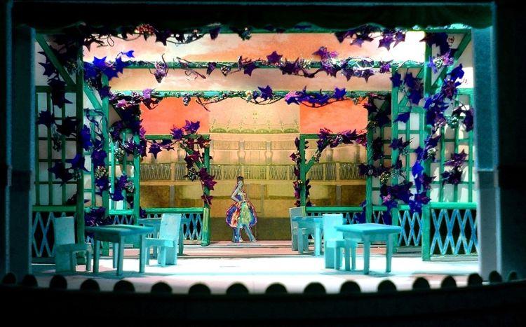 PARTENOPE, 2016<br> Modell, Theater Varamodi (Goethe- Theater Bad Lauchstädt)