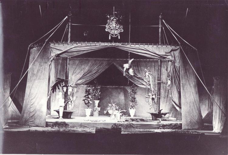 ALEXANDER, 1983<br> Szene, Landestheater Halle