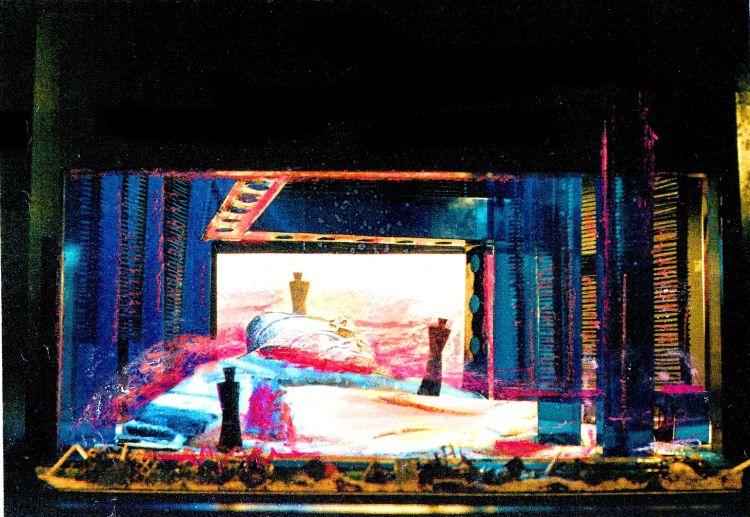 GIULIO CÄSARE, 1992<br> Entwurf, Oper Halle