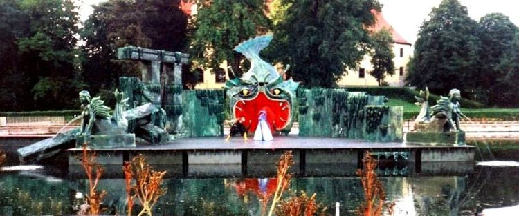 AQUA DANCE, 1998<br> Szene, Oper Halle